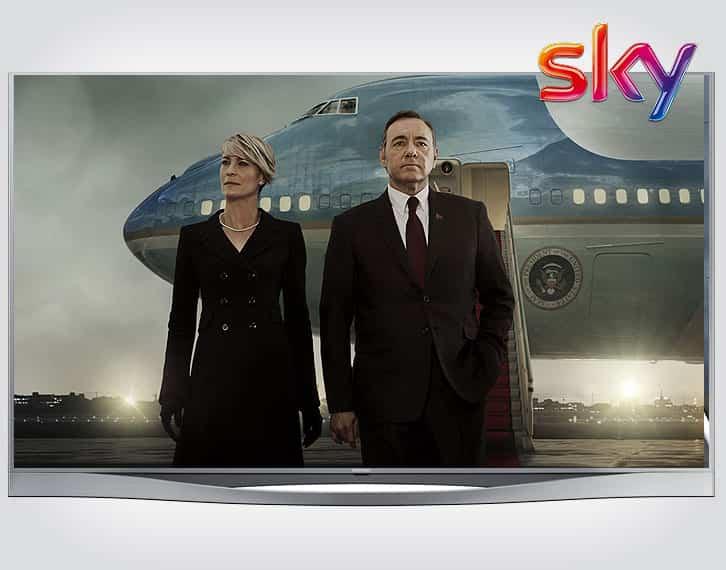 Szobák Sky TV